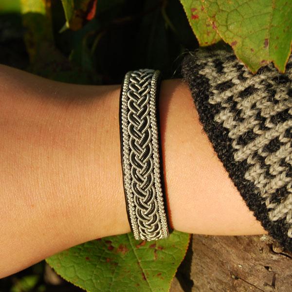 Pewter bracelet Laponia