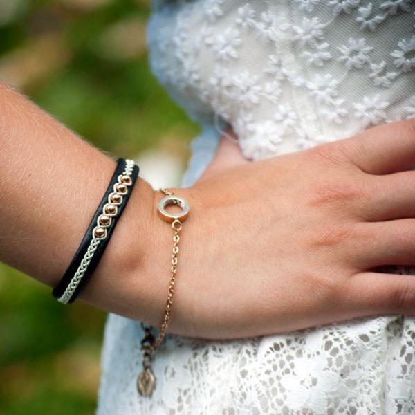 Sami bracelet Rose Pearl