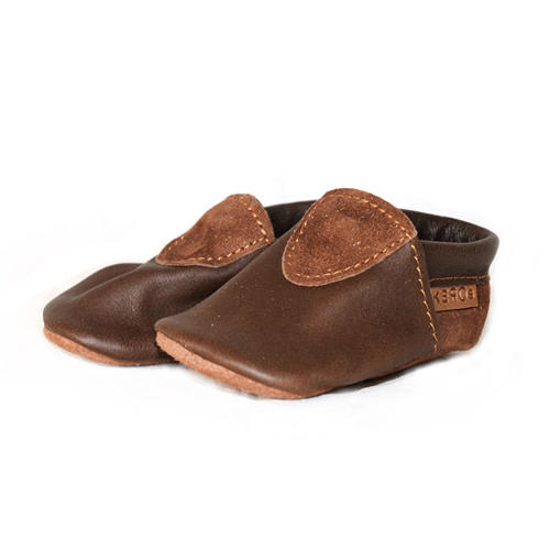 Moccasins for children in reindeer leather