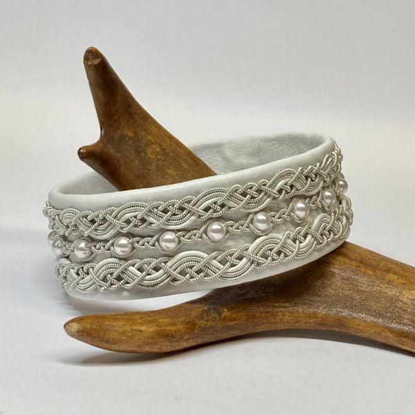 Pewter bracelet Pärlälven