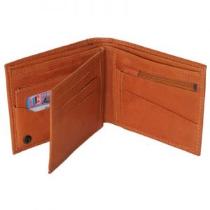 plånbok med löstagbar ficka