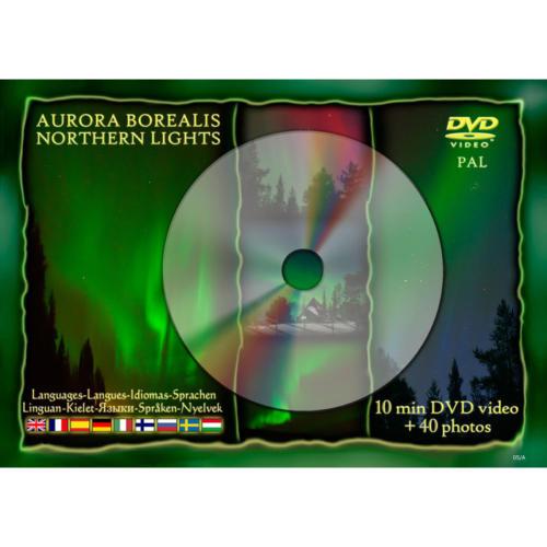 DVD vykort norrsken