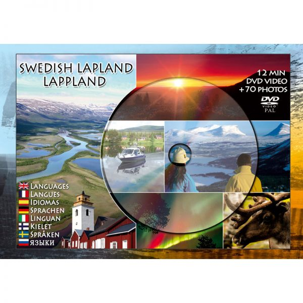 DVD vykort Lappland