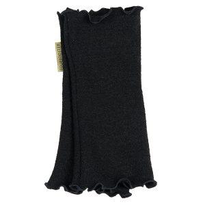 pulsvärmare merinoull svart