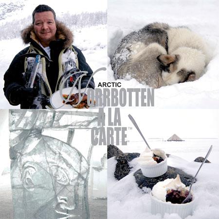 Arctic norrbotten a la carte
