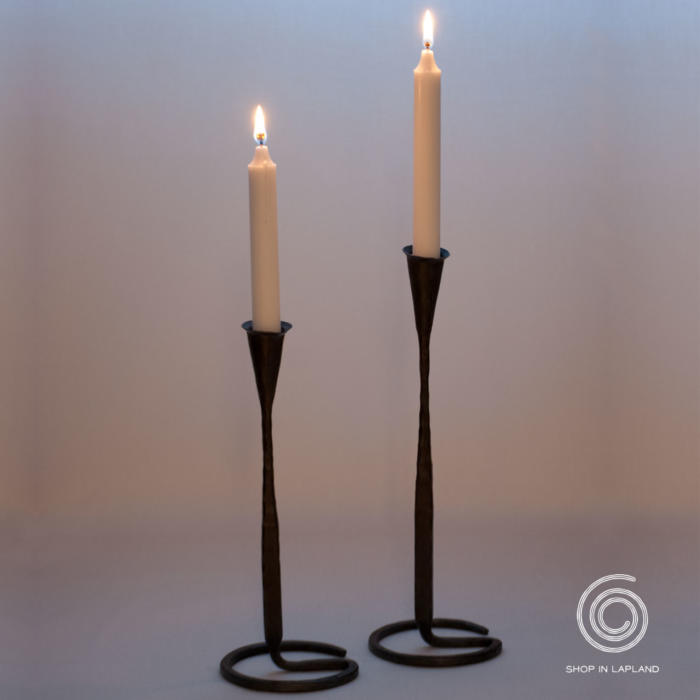 hand forged candlestick