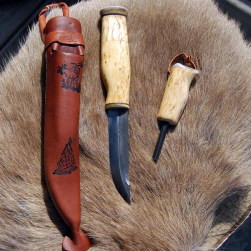 kniv med tändstål