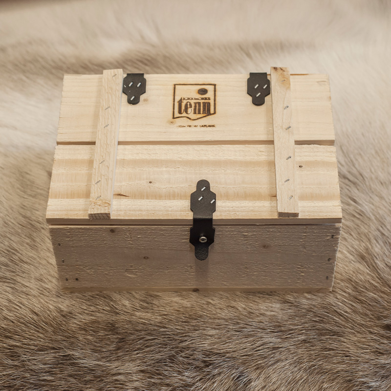 låda tennkupor