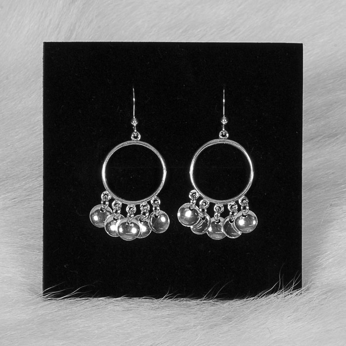 Silver earrings Salbba