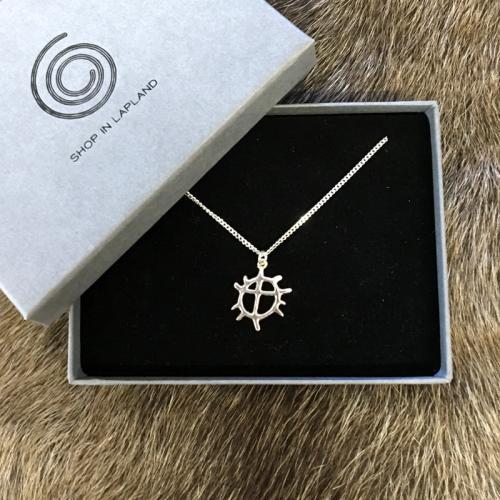 Solhjul litet halsband smycken