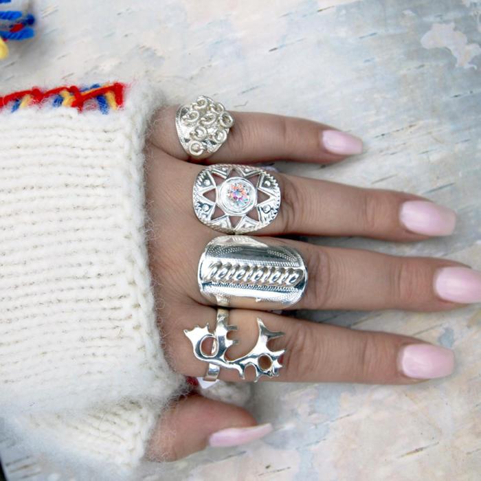 Samiska silverringar av Torild Labba