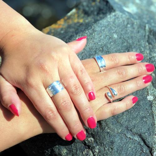 Silver ring Trollforsen