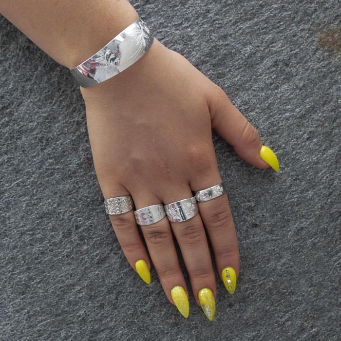 Torne valley silver bracelet