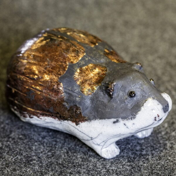 Mountain lemming in ceramics