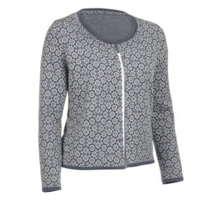 Mountain sipping woolen cardigan