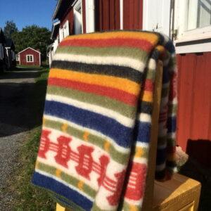 Wool felt Rättvik in folk colors