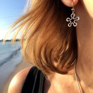 Blomman örhänge