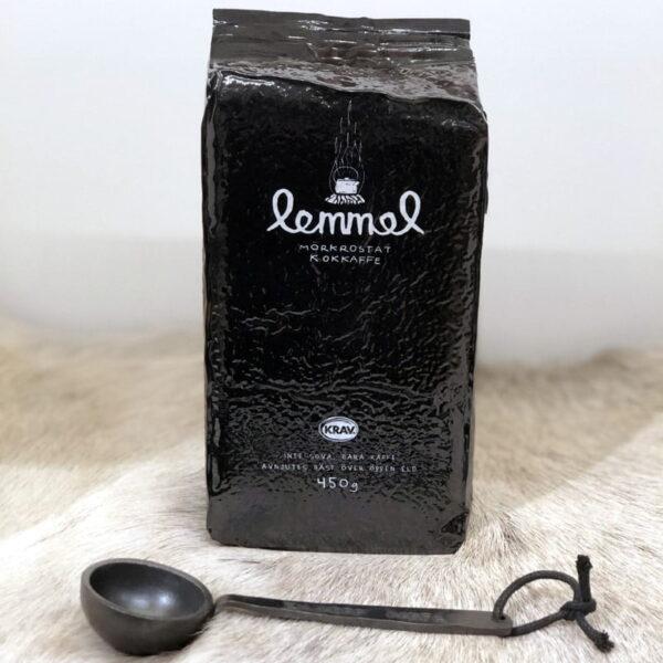 Kaffemått i smide och Lemmelkaffe