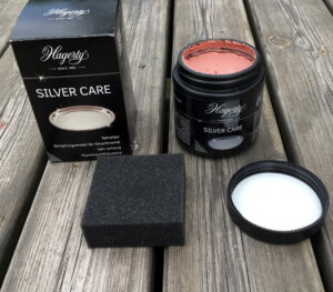 Hagerty silver care silverputs med svamp
