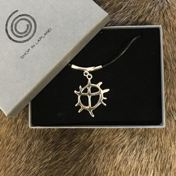 Solhjul stort halsband smycken