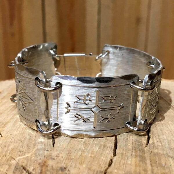 Pewter bracelet Midnight sun