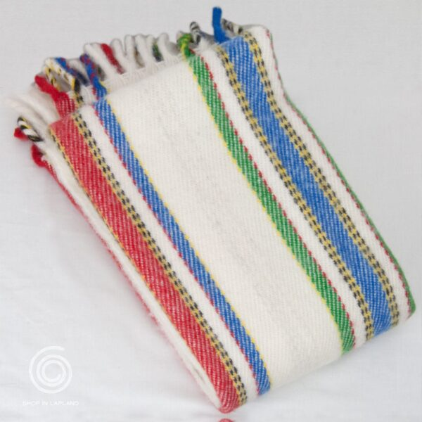 Norrbotten handvävd pläd i ull