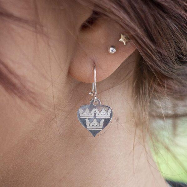 Silver Earrings Sweden