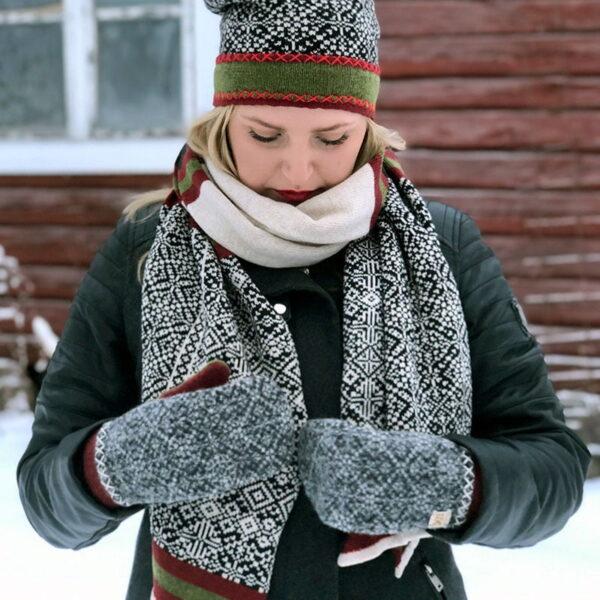 Halsduk Snöfall