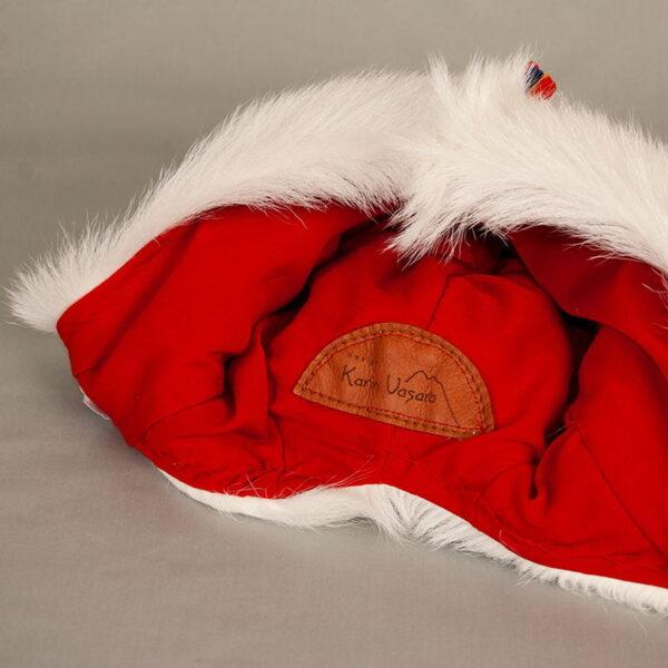Pälsmössa i killingskinn - samisk design