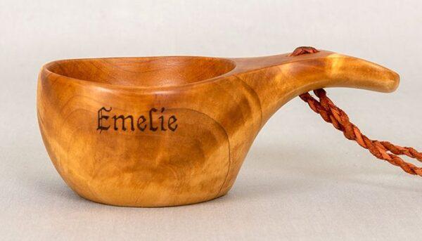 Guksi with flat handle