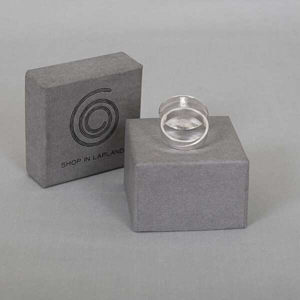 Button ring - round