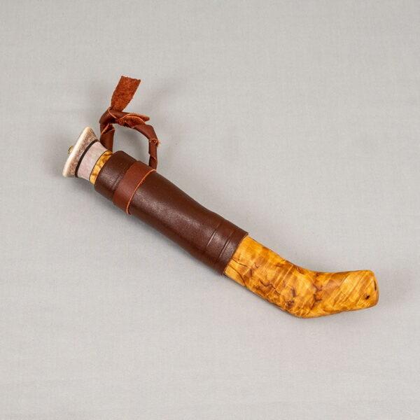 Knife in Masurian birch