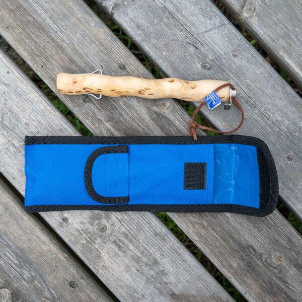 Grill stick in Masurian birch, telescopic model - optional engraving